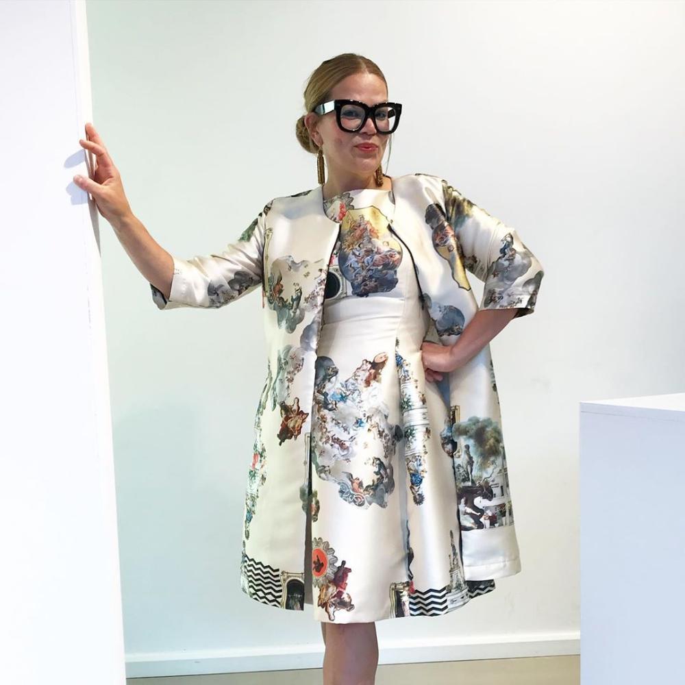 MAXJENNY Maxjenny Forslund, Fashion Designer and founder of
