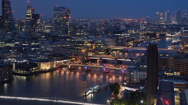 SPEED DATING över Londons broar